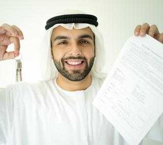 تسجيل إيجارة تنتهي بالتملك على حق منفعة
